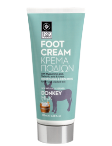 DONKEY MILK Foot Cream for cracked feet 100ml
