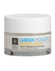Anti Wringle and Lifting Overnight Mask Greek Yogurt 50ml