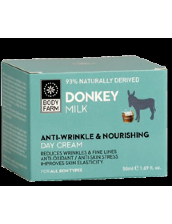 Anti wringle & Nourising Day Cream with Donkey Milk 50ml