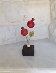 "Decorative Ceramic ""Pomegranates"""