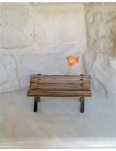 "Decorative Ceramic ""Bench"""