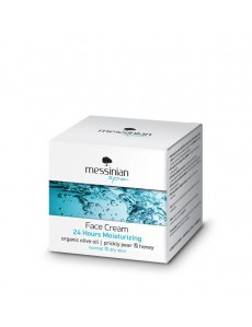 24 Hours Moisturizing Face Cream for normal to dry skin  50ml