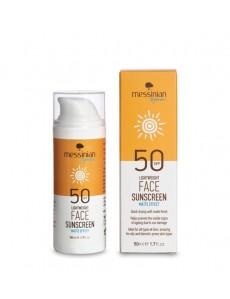 Face Sunscreen Matte effect SPF 50