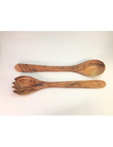 Set of Spoons made of Natural Olivewood