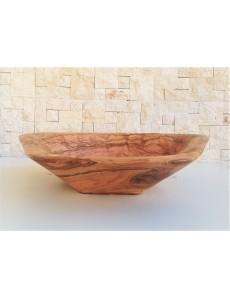 Handcrafted Bathroom Sink  Natural Olive wood