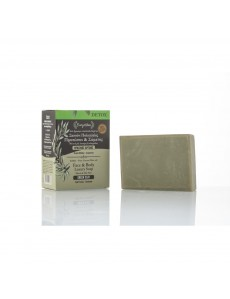 Natural Olive Oil Soap GREEN CLAY  120gr