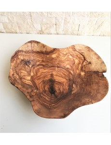 NATURAL  HANDCRAFTED  BOWL  MADE OF OLIVEWOOD