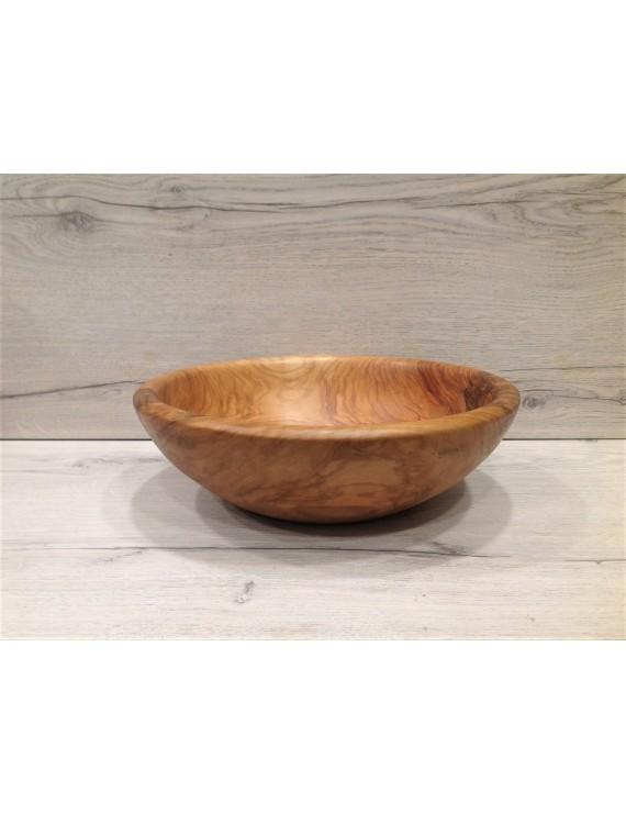 Olive wood Handcrafted Salad Bowl   22cm
