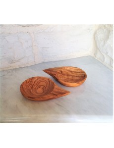 Olive wood Handcrafted mini Bowl set of 2