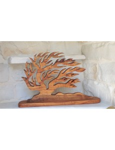 """Handcrafted Olive Tree  """"Anemos""""  45*29 cm."""