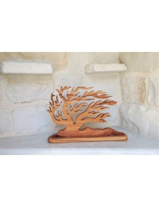"""Handcrafted  Olive Tree  """"Anemos""""   28*18 cm"""